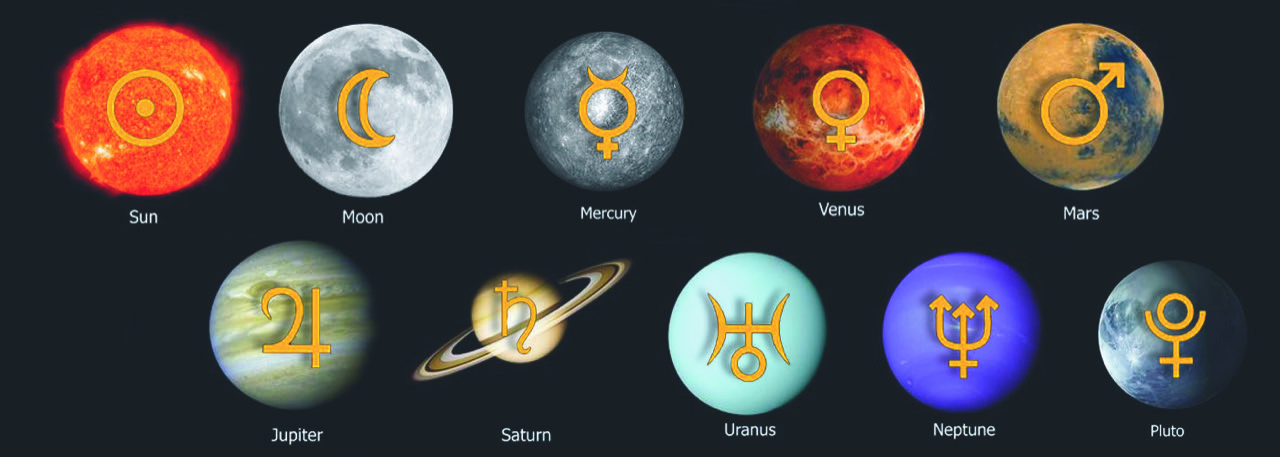 March 8: The Symbolism of the Planetary Glyphs