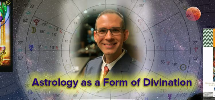 """PAST LECTURE: September 10th: """"Astrology as A Form of Divination"""" In-Person Lecture with Daniel Beck"""